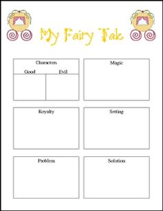 """FREE LANGUAGE ARTS LESSON - """"Fairy Tales: Creating Your Own Using the Elements"""" - Go to The Best of Teacher Entrepreneurs for this and hundreds of free lessons. 1st - 4th Grade  #FreeLesson   #LanguageArts   http://www.thebestofteacherentrepreneurs.net/2016/07/free-language-arts-lesson-fairy-tales.html"""