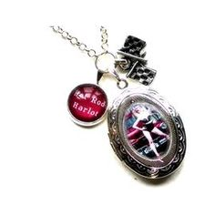 Hot Rod Harlot Locket & Charm Necklace