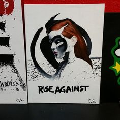 Rise Against painting