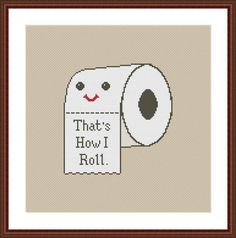 (10) Name: 'Embroidery : Poop Funny Cross Stitch Pattern