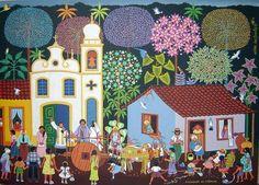 NAIF ART BRAZILIAN ORIGINAL - CASAMENTO DO INTERIOR