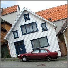 Leaning Houses in Stavanger