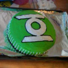 Green Lantern cake!!