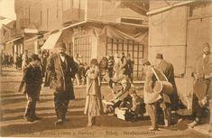 Street in Bitola during the Balkan Wars