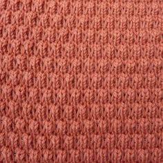 Slip 'N Tuck Stitch pattern
