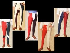 Different kinds of hosen.- A work about XV century fashion in France, Italy, Spain and England.