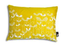 Saplings Sunflower Yellow with White Cushion