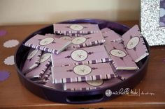 Purple Polar Bear 1st Birthday Party Birthday Party Ideas | Photo 1 of 25 | Catch My Party