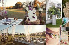 informal outdoor wedding receptions - Google Search