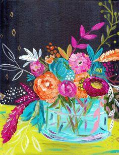 Bouquet Series No. 6 Original Painting