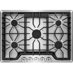Frigidaire Gas Cooktop (Stainless Steel) (Common: Actual: at Lowe's. Ease some of the burden of Store-More cooking with this gas cooktop from Frigidaire. Food is boiled faster with the power Burner that provides strong Kitchen Stove, Kitchen Appliances, Kitchen Reno, Life Kitchen, Ranger, Electric Wall Oven, Frigidaire, Single Wall Oven, Cool Things To Buy