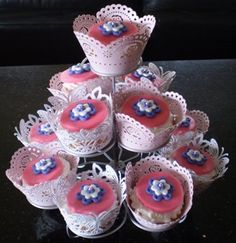 Whats a girls tea party without cupcakes!