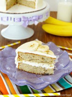 Soft and Moist Banana Cake