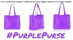 Purple Purse Do Your Part, Pass the Purple Purse: Domestic Violence Awareness Month Swing by and show your support Purple Purse, Domestic Violence, Bucket Bag, Monat, Tote Bag, Blog, Portrait, Friends, Beautiful