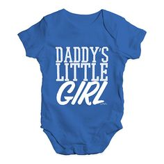 Daddy's Little Gi...  http://twistedenvy.com/products/daddys-little-girl-baby-unisex-baby-grow-bodysuit?utm_campaign=social_autopilot&utm_source=pin&utm_medium=pin   All artwork on Twisted Envy is created by artists from around the world.     #Twistedenvy