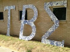 University of Arkansas Psi Chapter Letters! I WANT FOR OUR CHAPTER OMG.