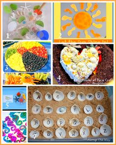 Sunny Sweet Life: Beach Themed Crafts and Activities