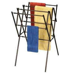 Now there's no item to big or to small for air drying thanks to the Household Essentials Expandable Clothes Dryer - Antique Bronze Frame . The sturdy. Drying Rack Laundry, Laundry Dryer, Clothes Drying Racks, Clothes Dryer, Heavy And Light, Space Saving Storage, Wood Colors, Joss And Main, Getting Organized