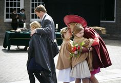 Dutch Royal Family celebrates King's Day 2015 in Dordrecht