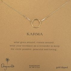 Pi Phi Express offers Dogeared™ jewelry! You can wear a halo around your neck every day with this necklace.
