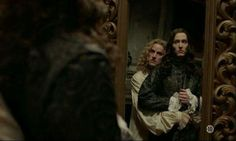 The amazing Alexander Vlahos as Monsieur Philippe Duc D'Orleans & Evan Williams as Chevalier de Lorraine in season 2 of the canal+ series Versailles