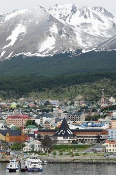 Ushusala harbor, Tierra del Fuego, Argentina Photo by MisterMalbec
