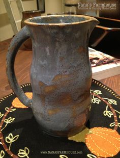 Christmas Gift idea, Handmade Pottery by local artist...Christmas decorating ideas on display during our Christmas Open House on November 2nd and 3rd.  See our Facebook page or website for more details.