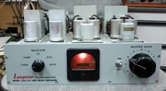 Trans preamp LCR phono amp