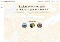 #Bienestar #herramienta #Internet Project Sunroof, de Google, estrena herramienta de exploración de datos