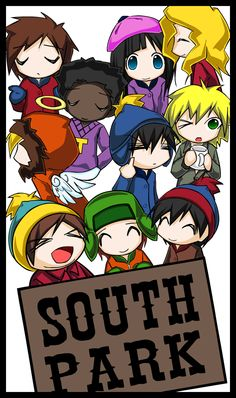 south park kids by m4kimaki on deviantART