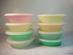 Call me crazy but I love vintage Tupperware.