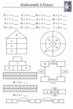 die 49 besten bilder von mathematik 1 klasse textaufgaben sachaufgaben bungen in 2019. Black Bedroom Furniture Sets. Home Design Ideas