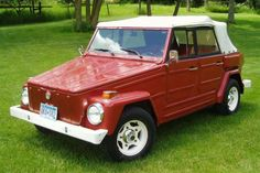 1974 VW Thing -  the windows come off, the doors come off and the windshield and top fold down