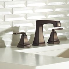 You'll love the Ashlyn Widespread faucet Bathroom Faucet with Drain Assembly and Ashlyn Mini-Widespread Bathroom Faucet with Drain Assembly and Diamond Seal Technology at Wayfair - Great Deals on all Home Improvement products with Free Shipping on most stuff, even the big stuff.