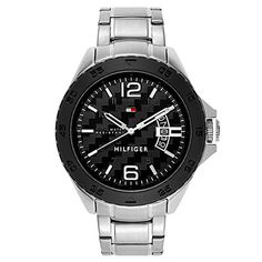 2f93371e Shop for Tommy Hilfiger Men's Cody Stainless Steel Watch. Watches ...