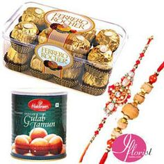 Ferrero Rocher Chocolate with Gulab Jamun