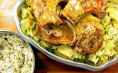 Thick-cut Pork Chops and Cabbage (One Pot)