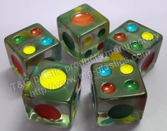 TG-013-B--Standard pips dice--T&G Plastic Products Manufactory