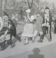 Vintage 1940's Neighborhood Halloween Costume by InteriorVintage