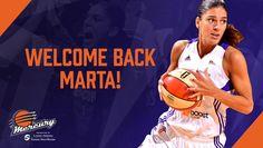 Marta Xargay disputará su segunda temporada en la WNBA Seguir a @elecapo87 Seguir a @Basketfem Marta Xargay volverá a vestir el uniforme de Phoenix Mercury por segunda temporada consecutiva. La jug…