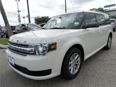 2014 Ford Flex white SUV http://www.performancefordlincoln.com/