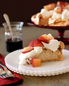 Pear Pavlova Recipe