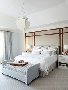See luxurious master suites including bedrooms and bathrooms from modern to traditional, eclectic, global and more.