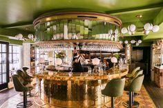 The most beautiful restaurants in Paris - Elle Decor Italia Restaurants In Paris, Restaurant Paris, Restaurant Design, Trattoria Italiana, Resto Paris, Luxury Bar, Gravity Home, Bar Interior, Interior Design