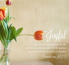 Proverbs 8:34