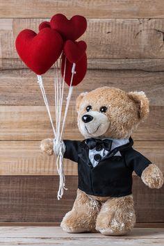 Happy Teddy Bear Day, Cute Teddy Bear Pics, Teddy Bear Pictures, Teddy Day Images, Bear Images, Cute Background Pictures, Baby Cartoon Drawing, Cute Baby Couple, Teady Bear