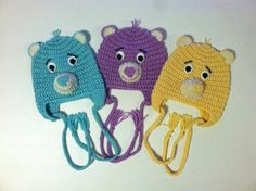 Care Bear Hat by AEMKnits on Etsy, $15.00