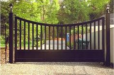 Image result for tri fold driveway gates