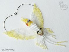 Cockatiel Suncatcher Bird Necklace Bird Lover by AlulaCreations