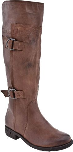 Chinese Laundry Flatbush Women's Riding Boot (Brownstone Leather)